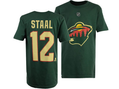 Minnesota Wild Eric Staal Outerstuff NHL Youth Player T-Shirt