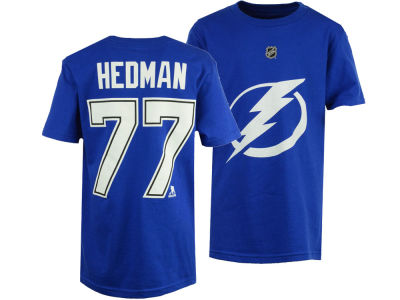 Tampa Bay Lightning Victor Hedman Outerstuff NHL Youth Player T-Shirt