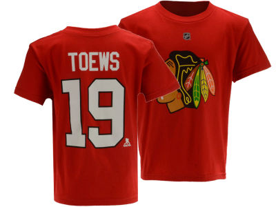 Chicago Blackhawks Jonathan Toews Outerstuff NHL Toddler Player T-Shirt
