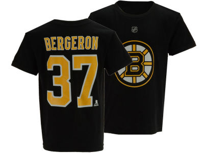 Boston Bruins Patrice Bergeron Outerstuff NHL Kids Player T-Shirt