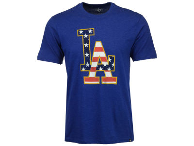 Los Angeles Dodgers MLB Men's Stars And Bars T-Shirt