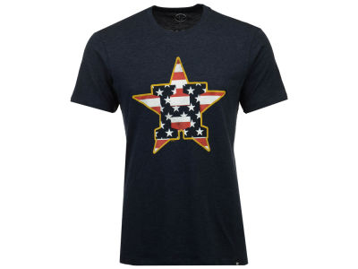 Houston Astros MLB Men's Stars And Bars T-Shirt