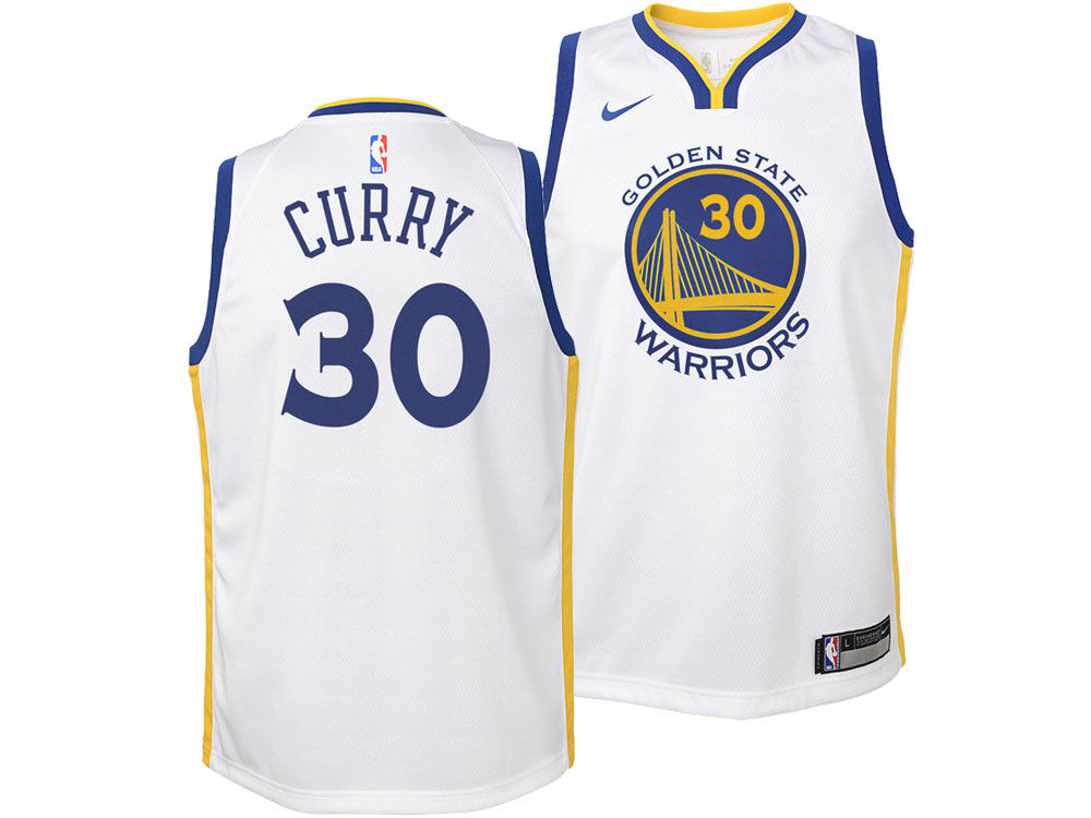 Golden State Warriors Stephen Curry Nike NBA Youth Association Swingman  Jersey  4c50d337d