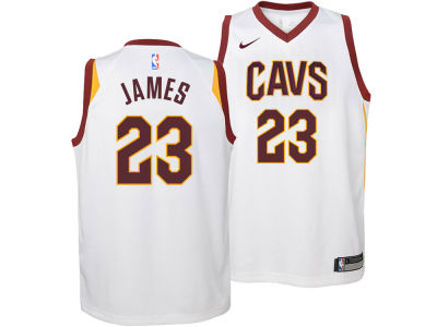 Cleveland Cavaliers Lebron James Nike NBA Youth Association Swingman Jersey