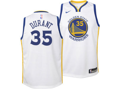 Golden State Warriors Kevin Durant Nike NBA Youth Association Swingman Jersey