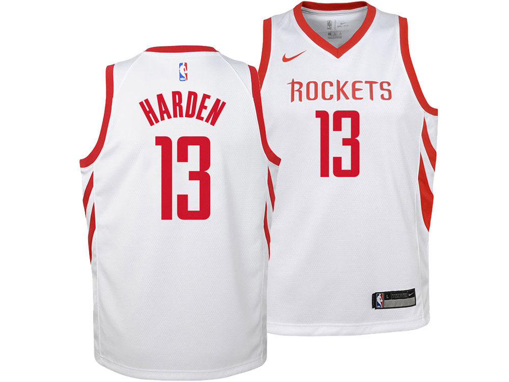 Houston Rockets James Harden Nike NBA Youth Association Swingman Jersey  016110895