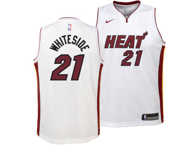 Miami Heat Hassan Whiteside Nike NBA Youth Association Swingman Jersey