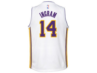 Los Angeles Lakers Brandon Ingram Nike NBA Youth Association Swingman Jersey
