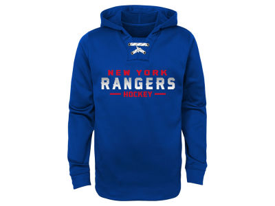 New York Rangers Outerstuff 2017 NHL Youth Hockey Hoodie