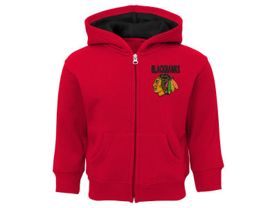 Chicago Blackhawks Outerstuff NHL Toddler Pledge Full Zip Hoodie