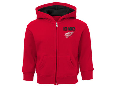 Detroit Red Wings Outerstuff NHL Toddler Pledge Full Zip Hoodie
