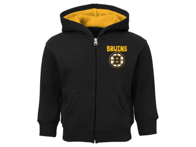 Boston Bruins Outerstuff NHL Infant Pledge Full Zip Hoodie