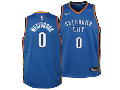 Oklahoma City Thunder Russell Westbrook Nike NBA Youth Icon Swingman Jersey