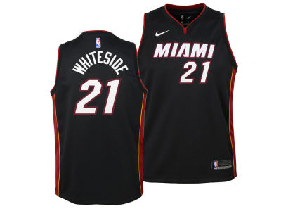 Miami Heat Hassan Whiteside Nike NBA Youth Icon Swingman Jersey