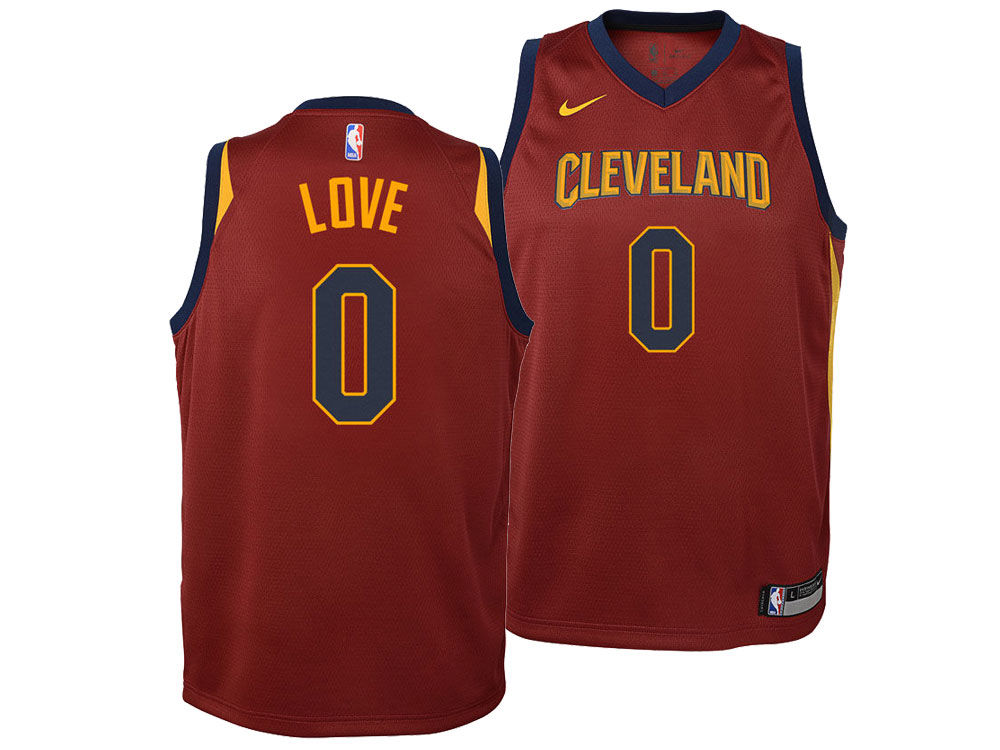 e544f0650b4 ... hot cleveland cavaliers kevin love nike nba youth icon swingman jersey  e3387 5b5b0