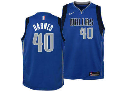 Dallas Mavericks Harrison Barnes Nike NBA Youth Icon Swingman Jersey