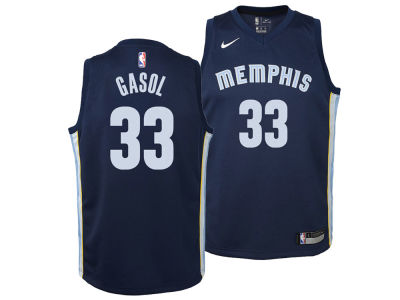 Memphis Grizzlies Marc Gasol Nike NBA Youth Icon Swingman Jersey