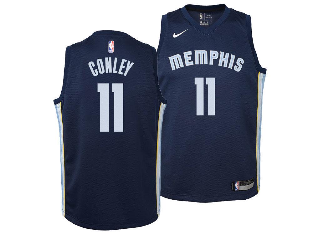 42d92c341c5 ... wholesale memphis grizzlies mike conley jr. nike nba youth icon  swingman jersey 7dc36 f6b17