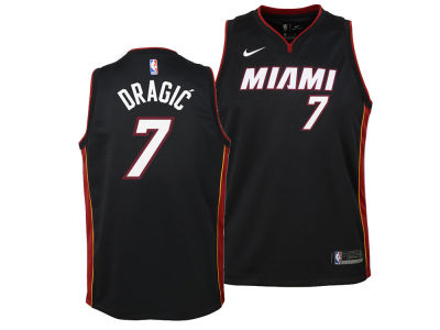 Miami Heat Goran Dragic Nike NBA Youth Icon Swingman Jersey