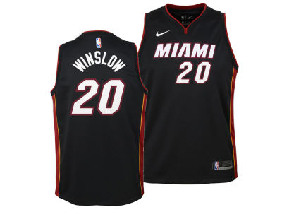 Miami Heat Justise Winslow Nike NBA Youth Icon Swingman Jersey