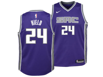 Sacramento Kings Buddy Hield Nike NBA Youth Icon Swingman Jersey