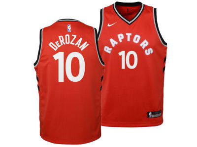 Toronto Raptors DeMar DeRozan Nike NBA Youth Icon Swingman Jersey