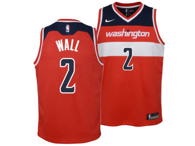 Washington Wizards John Wall Nike NBA Youth Icon Swingman Jersey