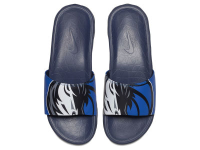 Dallas Mavericks Nike Men's Benassi Solarsoft Slide Sandals