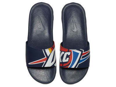 Oklahoma City Thunder Nike Men's Benassi Solarsoft Slide Sandals