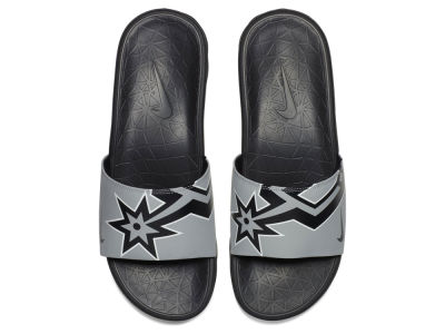 San Antonio Spurs Nike Men's Benassi Solarsoft Slide Sandals