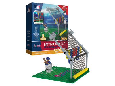 Atlanta Braves MLB Batting Cage Set
