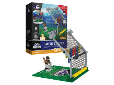 Colorado Rockies MLB Batting Cage Set