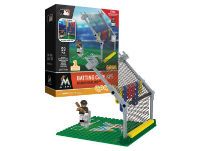 Miami Marlins MLB Batting Cage Set