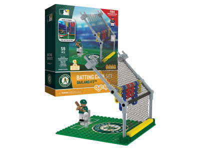 Oakland Athletics MLB Batting Cage Set