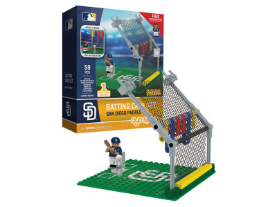 San Diego Padres MLB Batting Cage Set