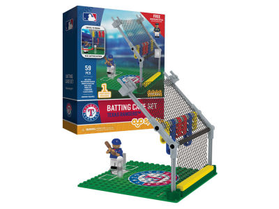Texas Rangers MLB Batting Cage Set