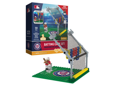 Washington Nationals MLB Batting Cage Set
