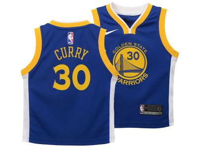 Golden State Warriors Stephen Curry Nike NBA Kids Icon Replica Jersey