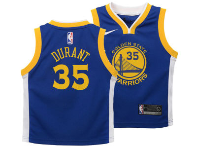 Golden State Warriors Kevin Durant Nike NBA Kids Icon Replica Jersey