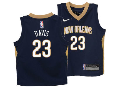 New Orleans Pelicans Anthony Davis Nike NBA Kids Icon Replica Jersey