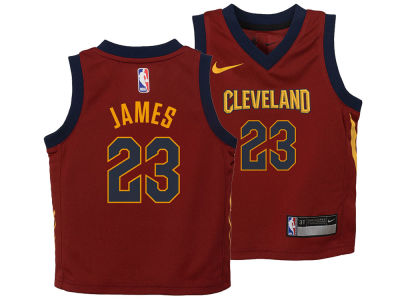 Cleveland Cavaliers Lebron James Nike NBA Toddler Icon Replica Jersey