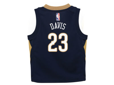 New Orleans Pelicans Anthony Davis Nike NBA Infant Icon Replica Jersey