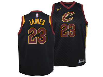 Cleveland Cavaliers Lebron James Nike NBA Youth Statement Swingman Jersey