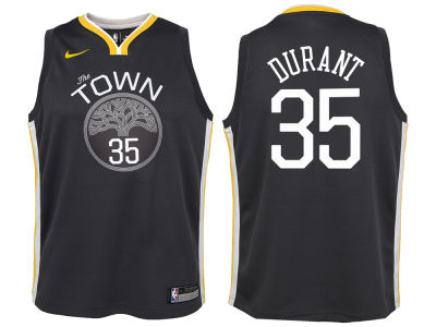 Golden State Warriors Kevin Durant Nike NBA Youth Statement Swingman Jersey