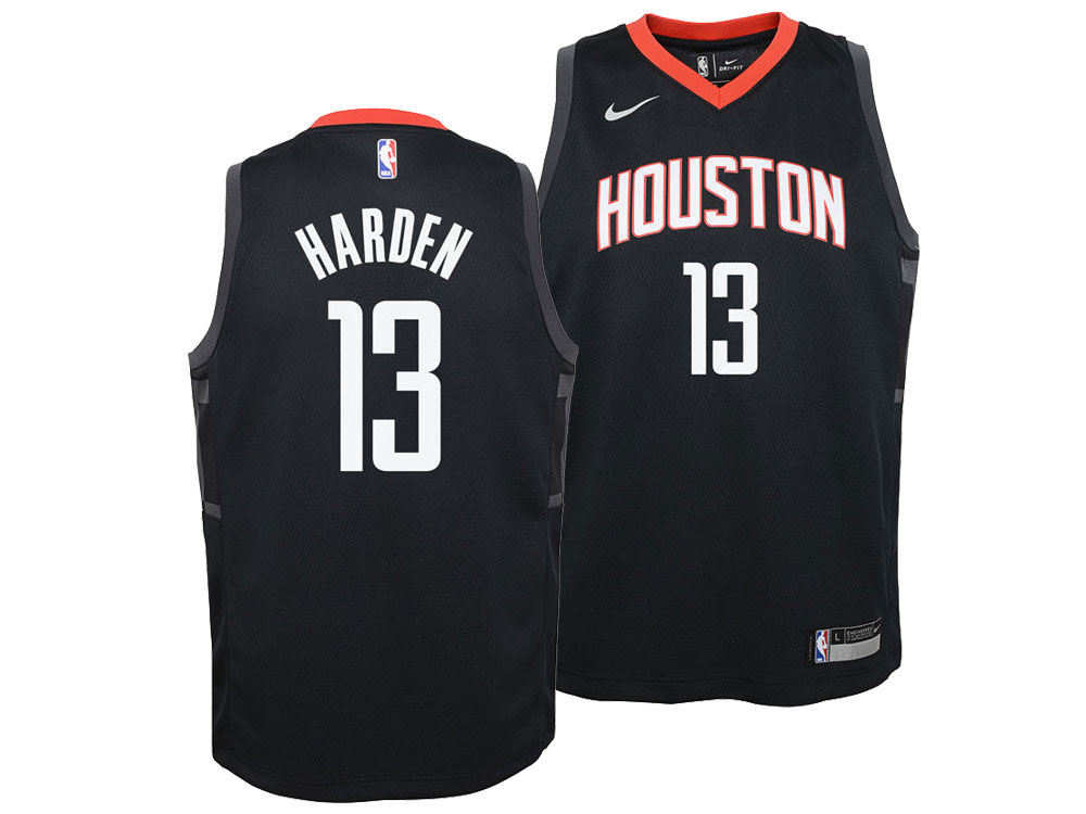 Houston Rockets James Harden Nike NBA Youth Statement Swingman Jersey  6ddd793d0