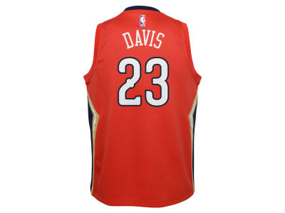 New Orleans Pelicans Anthony Davis Nike NBA Youth Statement Swingman Jersey