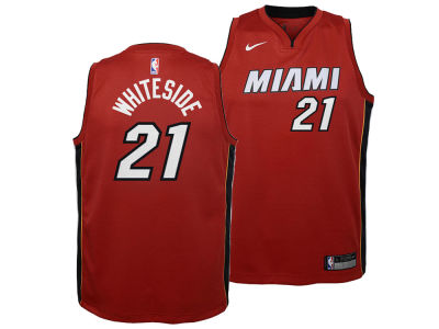 Miami Heat Hassan Whiteside Nike NBA Youth Statement Swingman Jersey