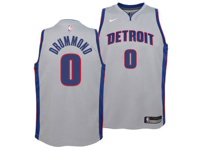 Detroit Pistons Andre Drummond Nike NBA Youth Statement Swingman Jersey