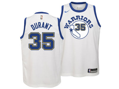 Golden State Warriors Kevin Durant Nike NBA Youth Hardwood Classic Swingman Jersey