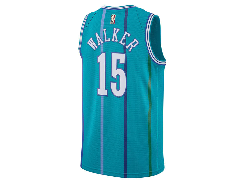 1861b4670 Charlotte Hornets Kemba Walker Nike NBA Youth Hardwood Classic Swingman  Jersey